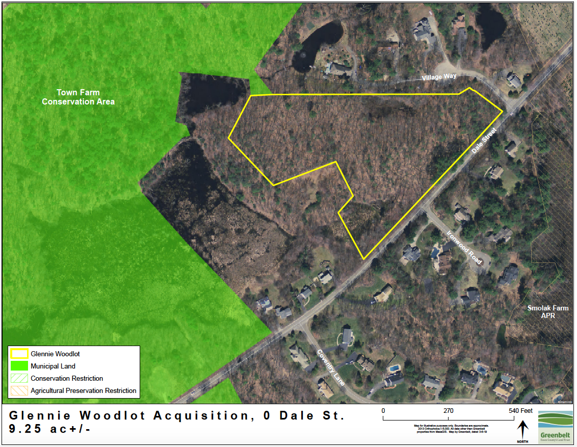 Glennie Woodlot map